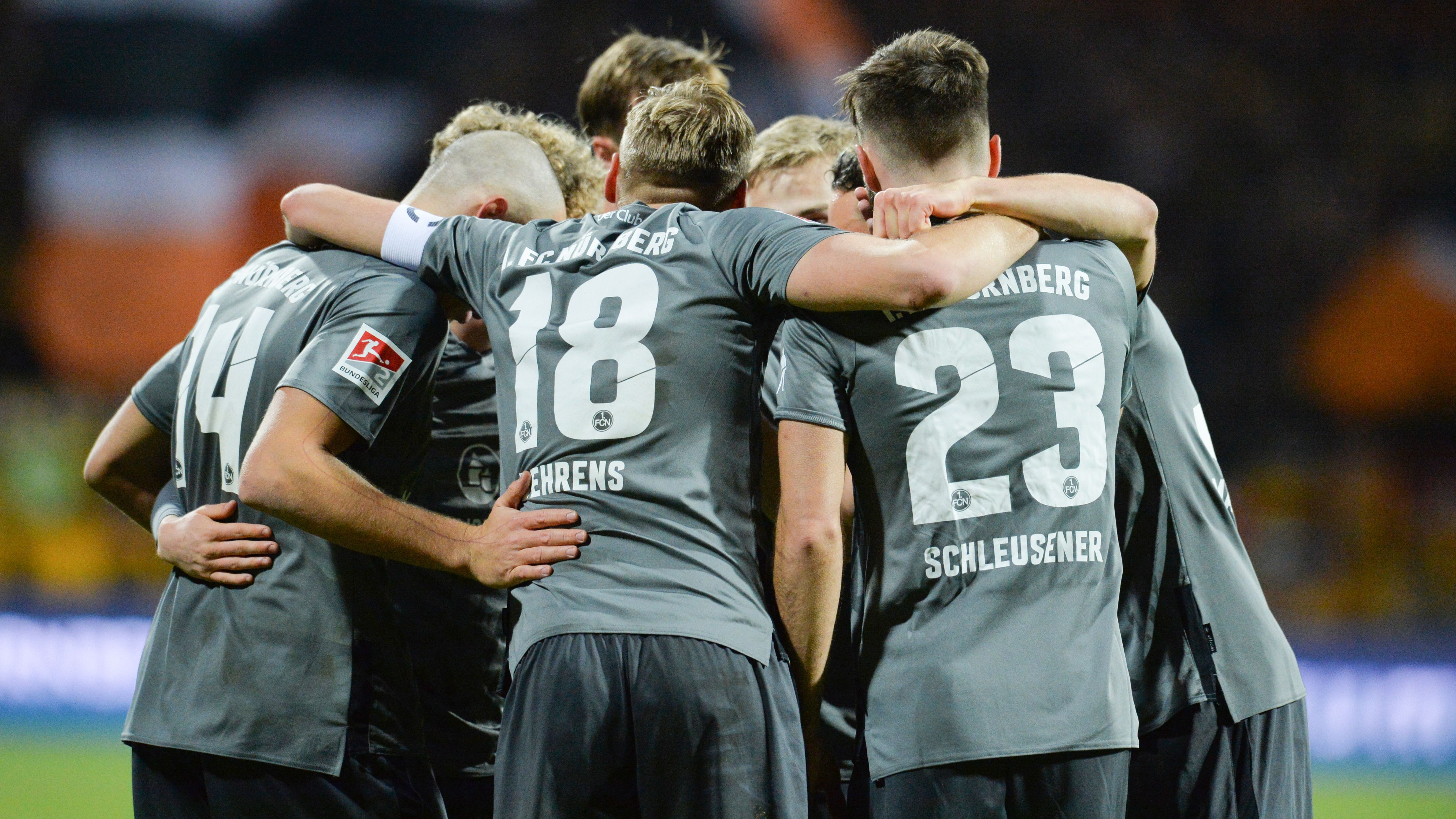 Die Mannschaft des 1. FC Nürnberg
