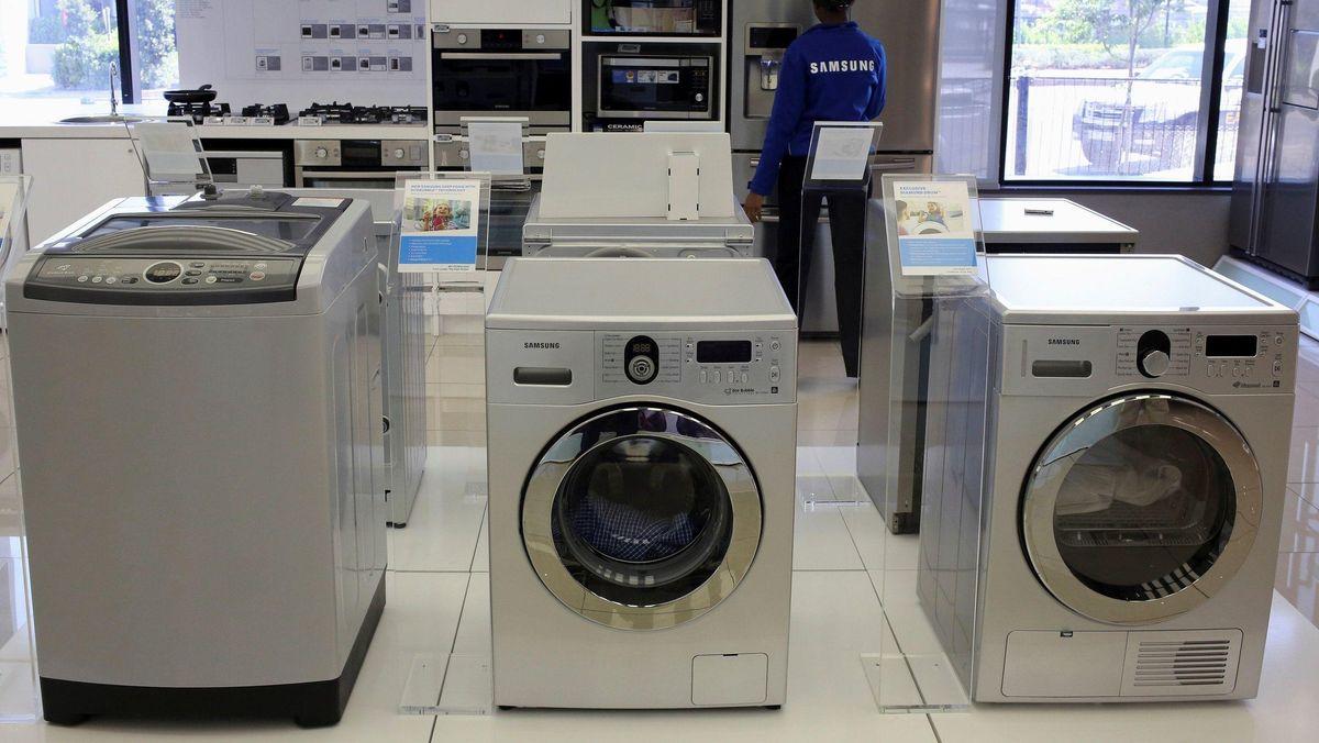 In der Corona-Pandemie hat sich die Nachfrage nach technischen Konsumgütern auf der ganzen Welt verändert. Die Menschen kaufen mehr Haushaltsgeräte.