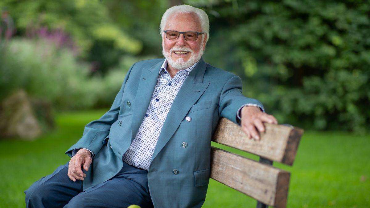 Michael A. Roth im August 2020 in Rückersdorf im Nürnberg Land, wo er seinen Ruhestand verbringt