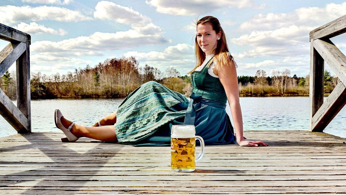 Die neue Bayerische Bierkönigin aus der Oberpfalz: Sarah Jäger