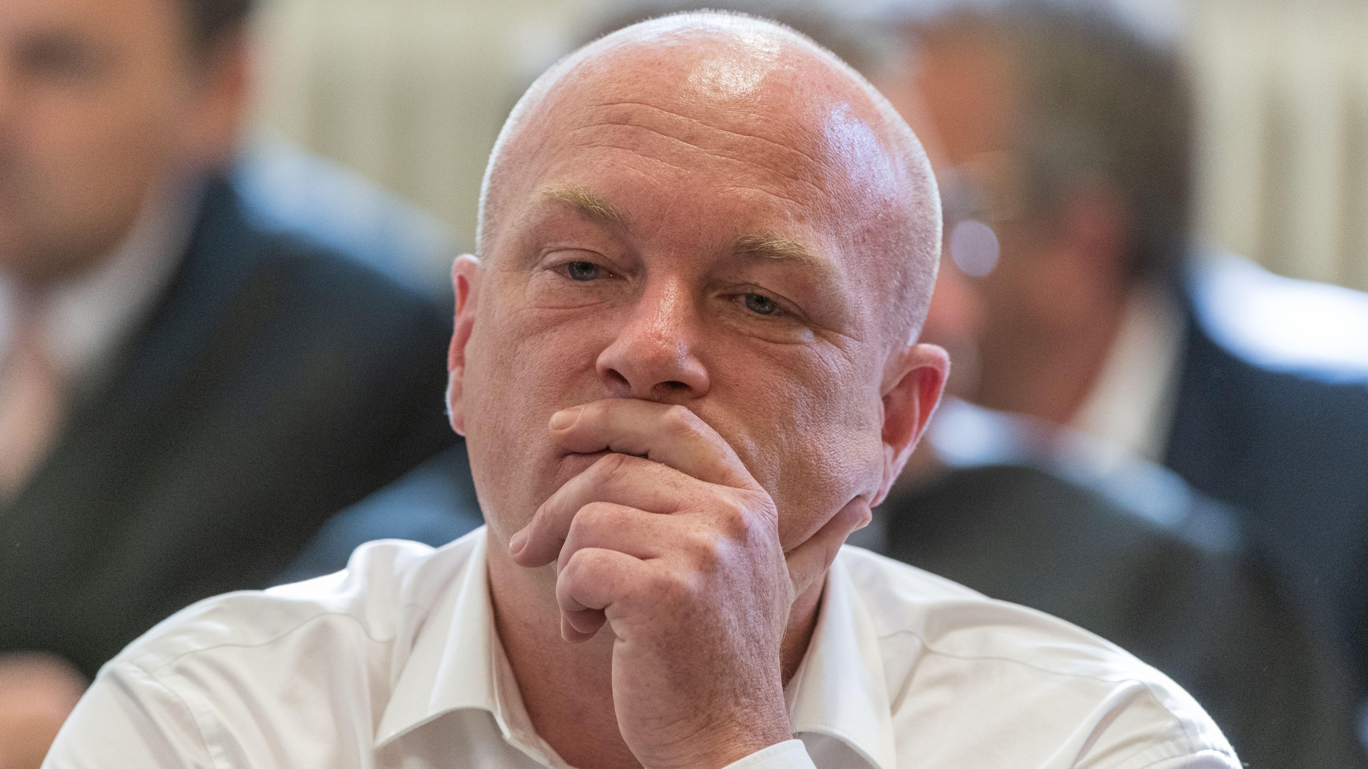 Der suspendierte Regensburger OB Joachim Wolbergs im Prozess vor dem Landgericht