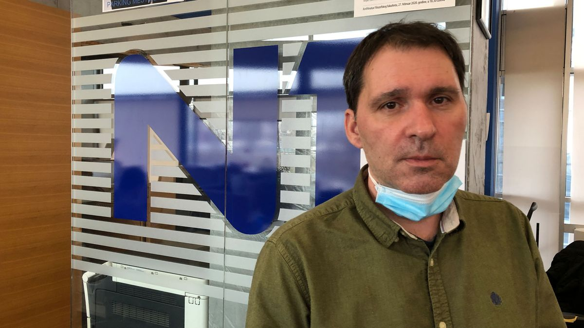 Igor Božić, Geschäftsführer und Produzent des unabhängigen TV-Senders N1