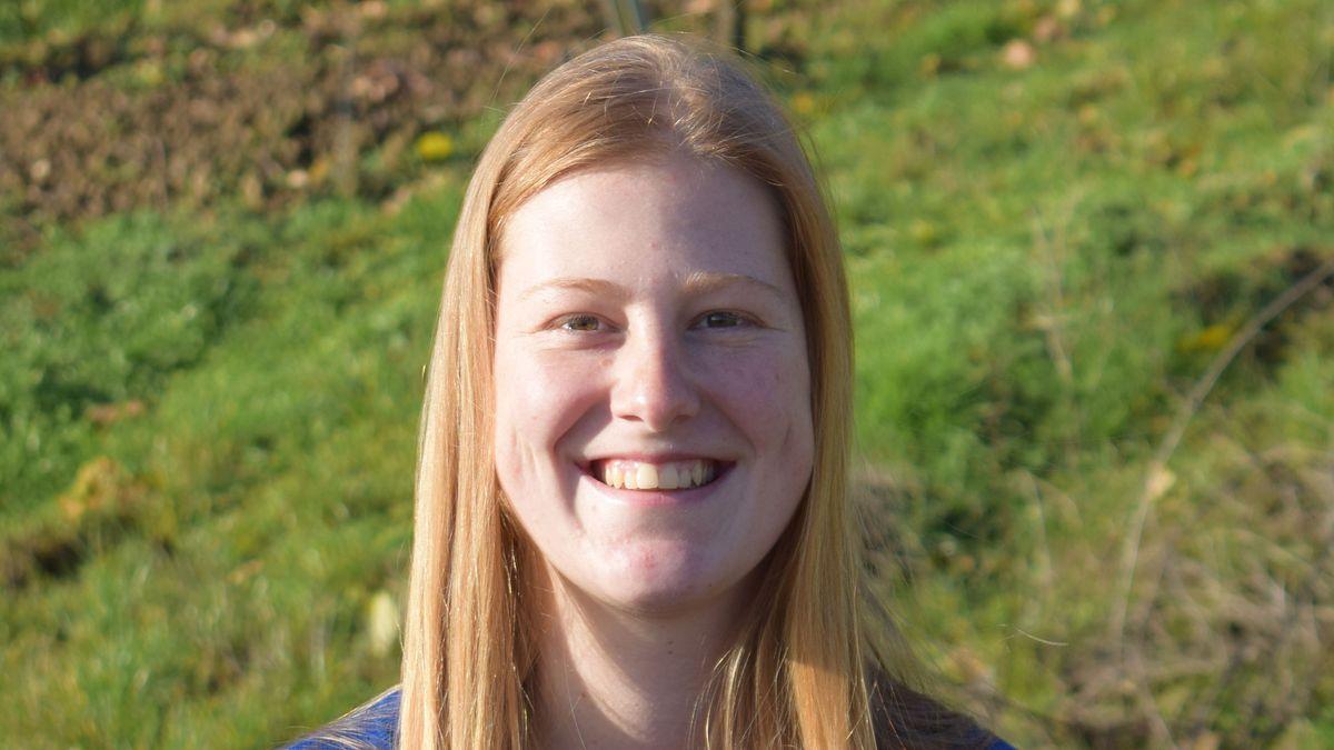 Kimberly Langlotz will Fränkische Weinkönigin werden