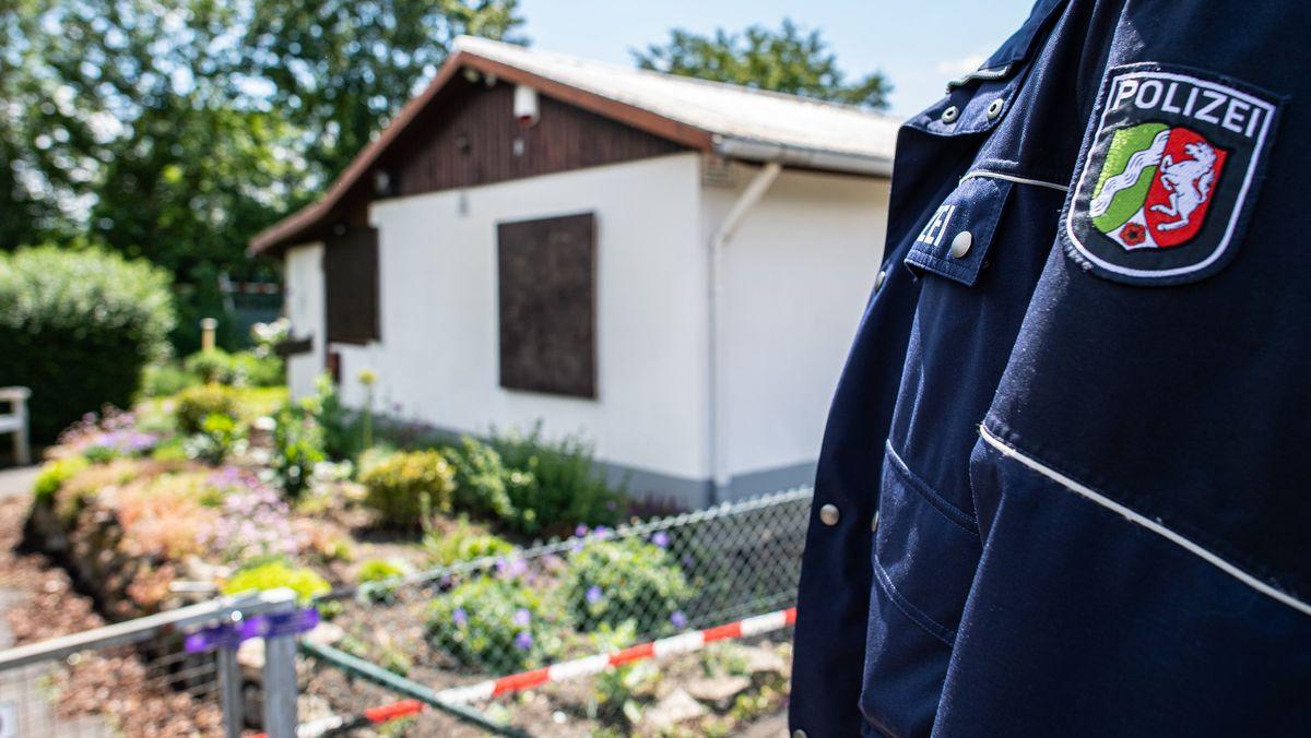 In der Gartenlaube brachte der mutmaßliche Täter Teile seiner Server-Anlage unter.