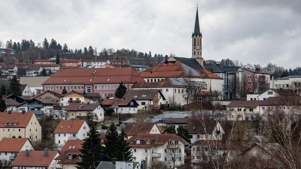 Stadtansicht von Freyung