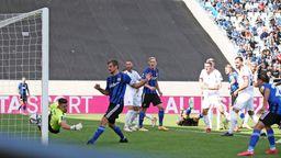Spielszene 1. FC Saarbrücken - Türkgücü München | Bild:imago images / Jan Huebner
