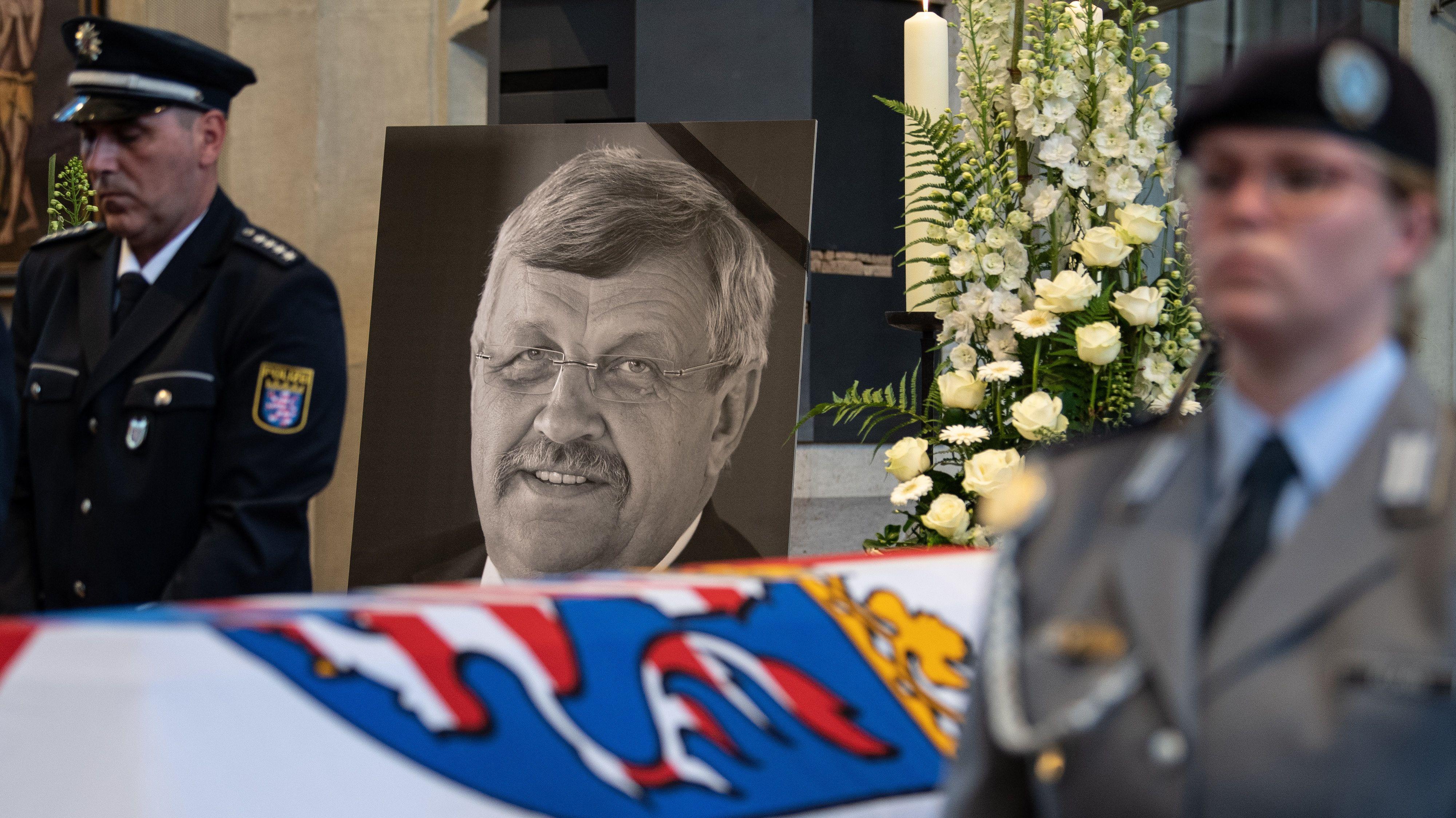 Beisetzung des Kassler Regierungspräsidenten Walter Lübcke