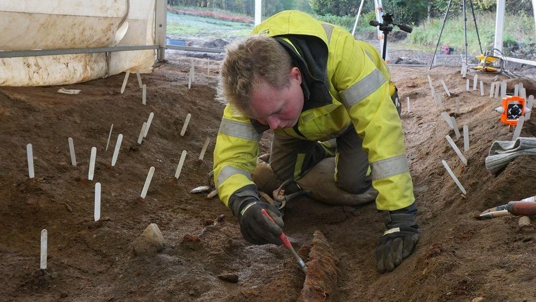 Die archäologischen Grabungen in Norwegen lassen auf die Wiederverwendung der Wikinger-Grabstätte schließen.