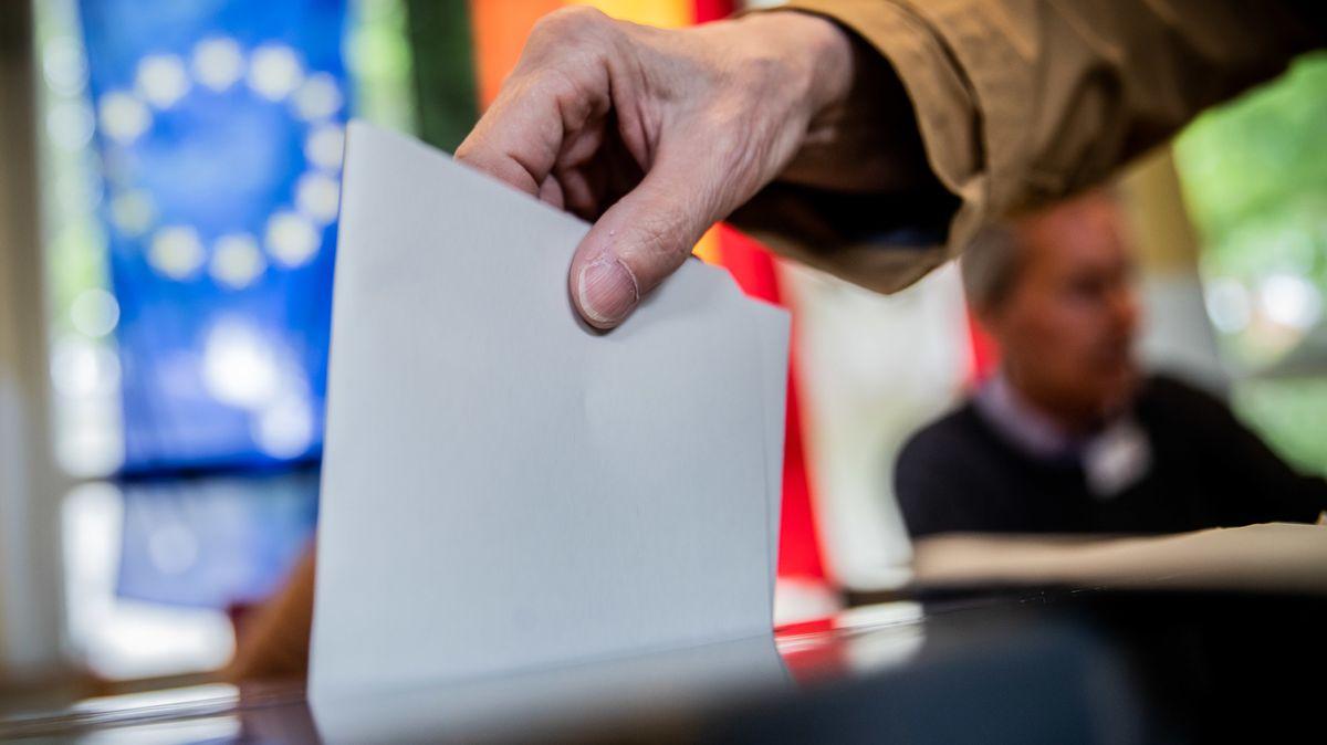Europawahl -  Stimmabgabe