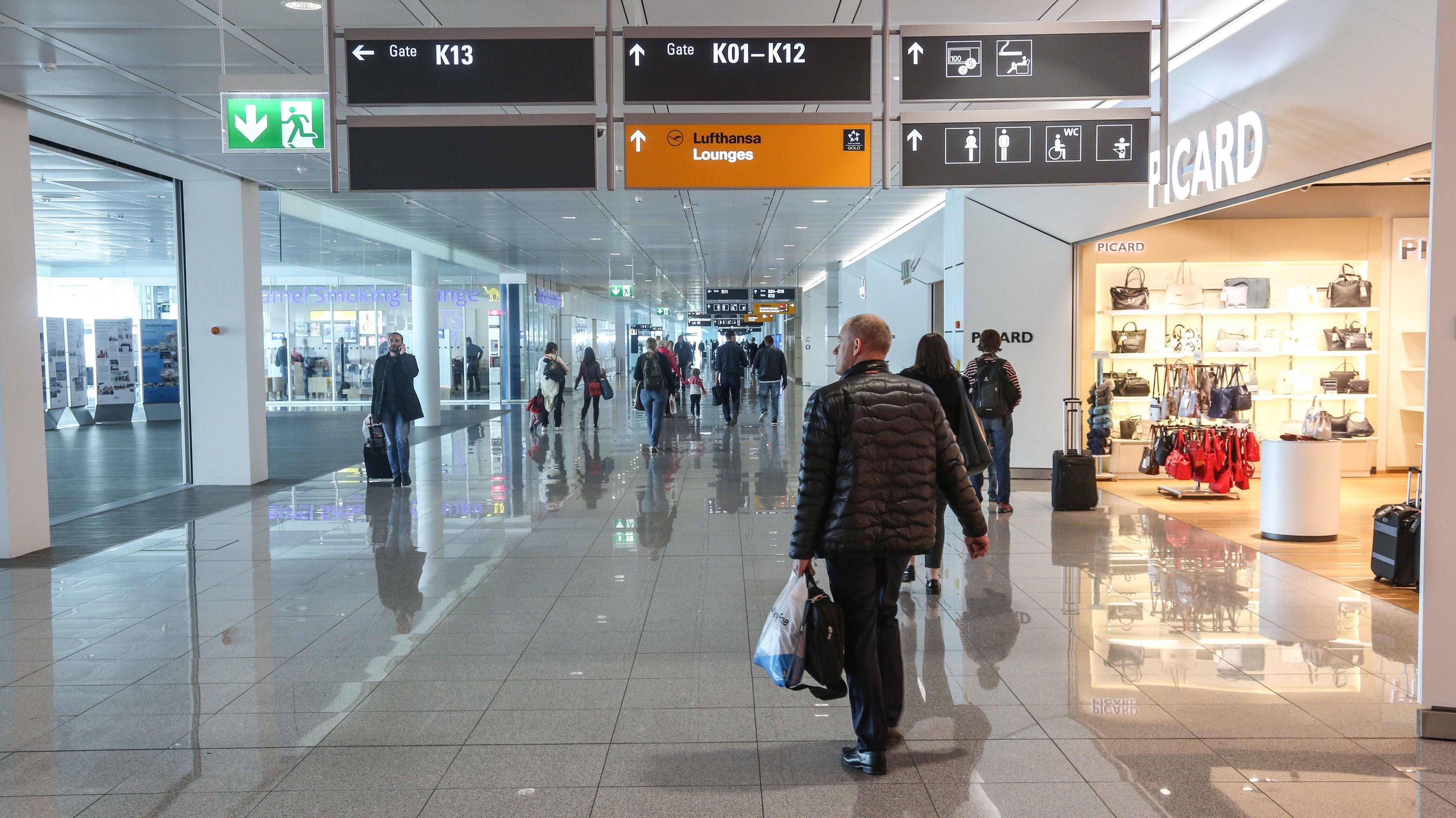 Terminal am Flughafen München