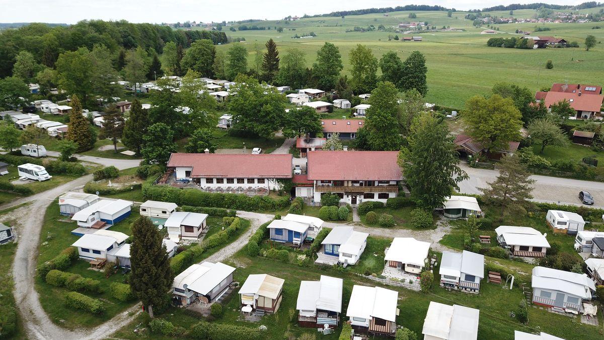 Campingplatz am Riegsee