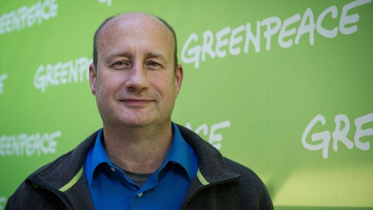 Meeresbiologe und Greenpeace-Experte Christian Bussau