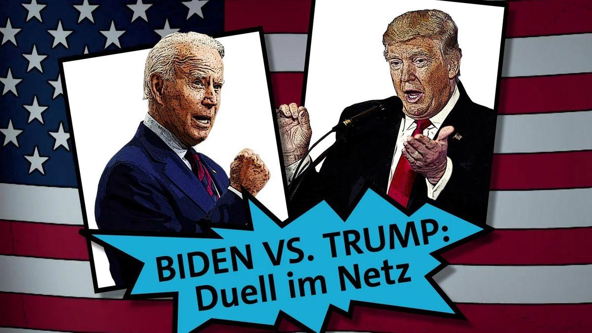 Biden vs. Trump - das Duell im Netz
