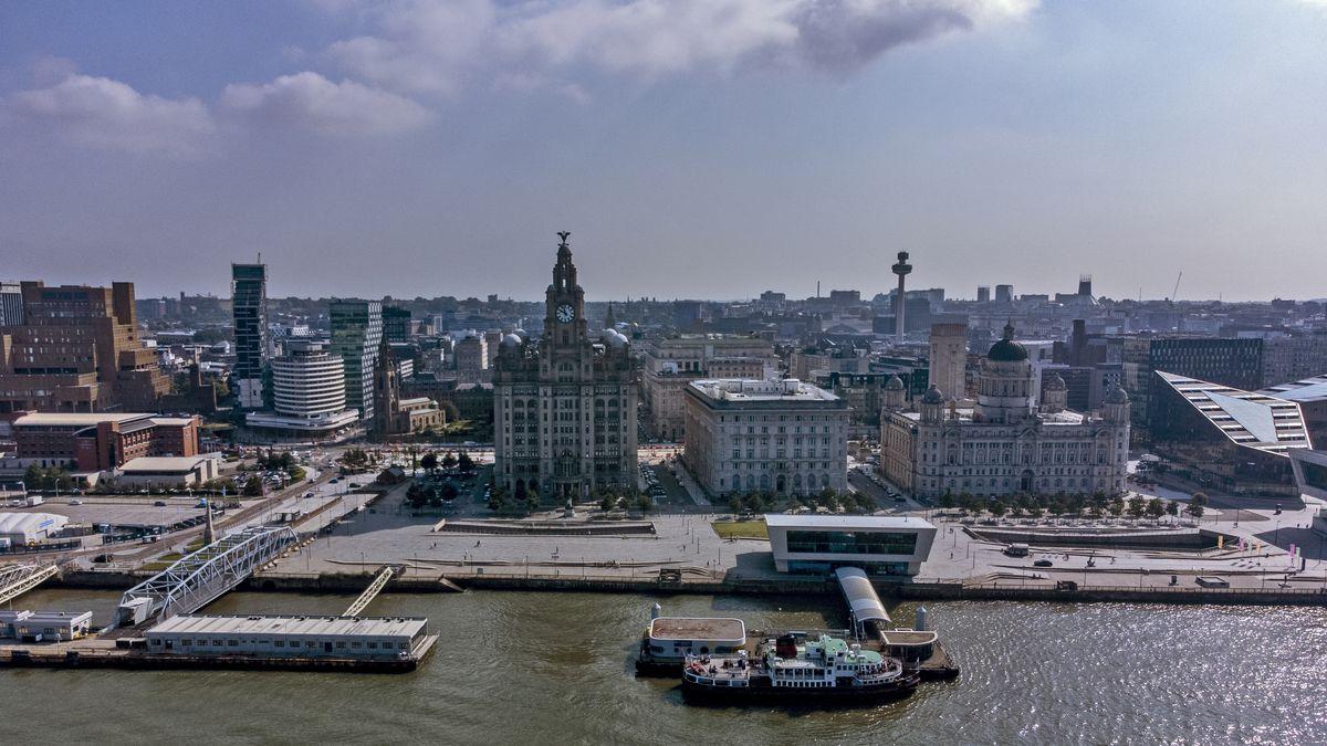 Liverpool Hafen