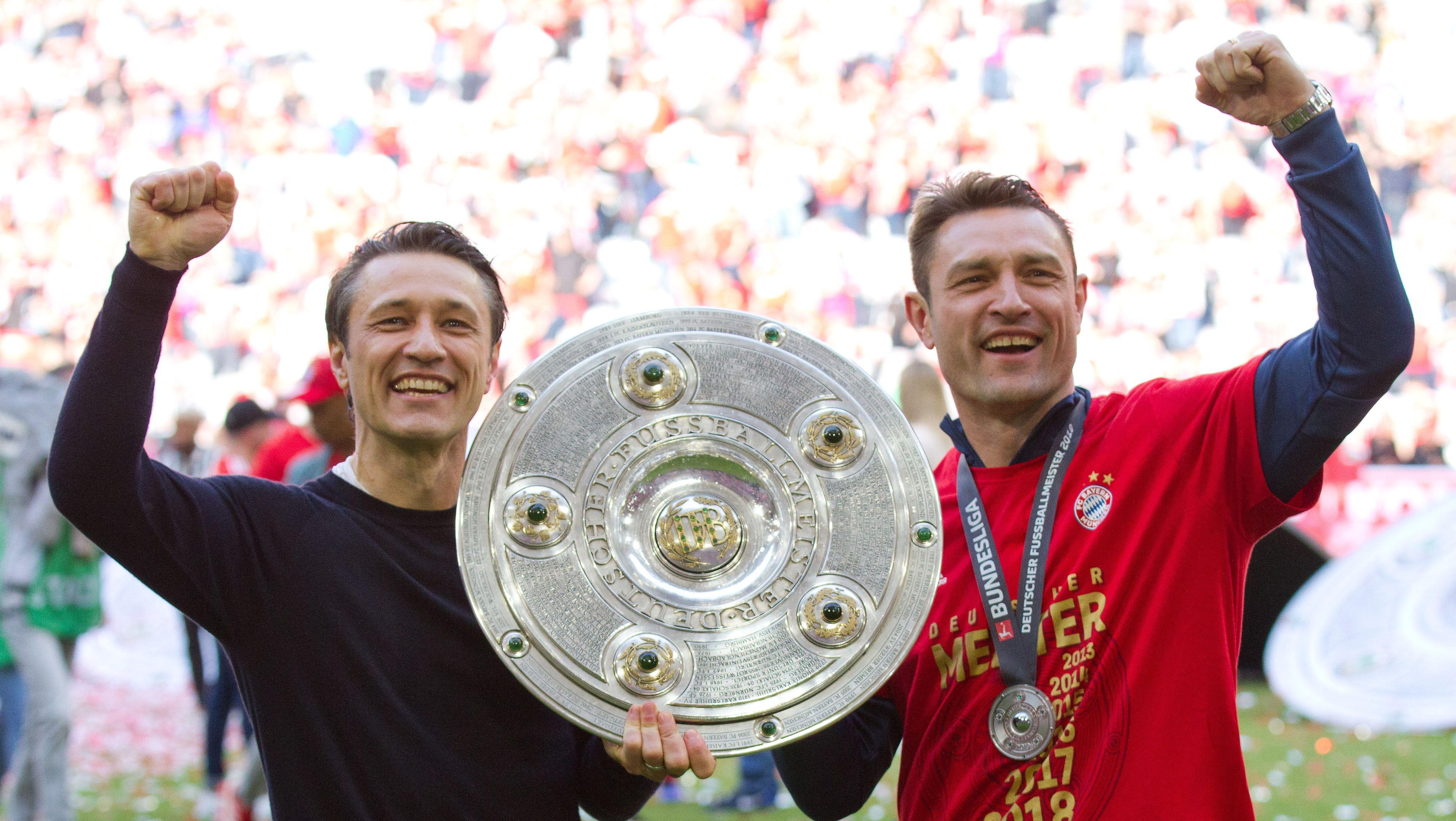 Niko Kovac mit seinem Bruder und Co-Trainer Robert