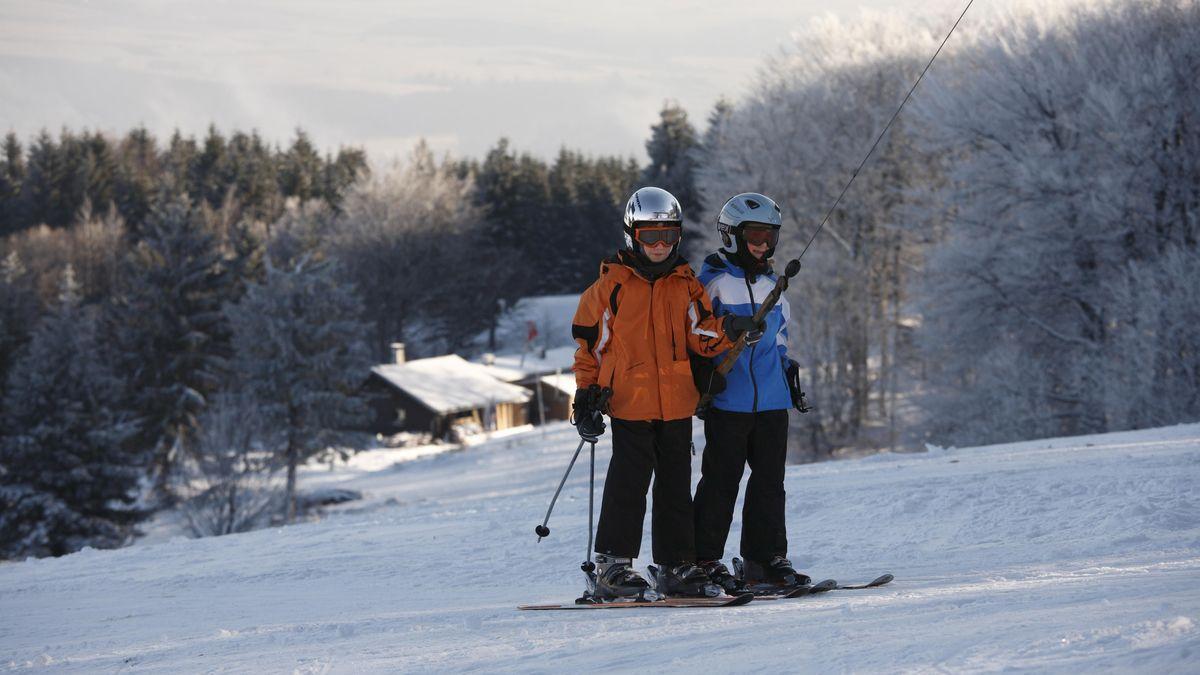 Skilift in der Rhön