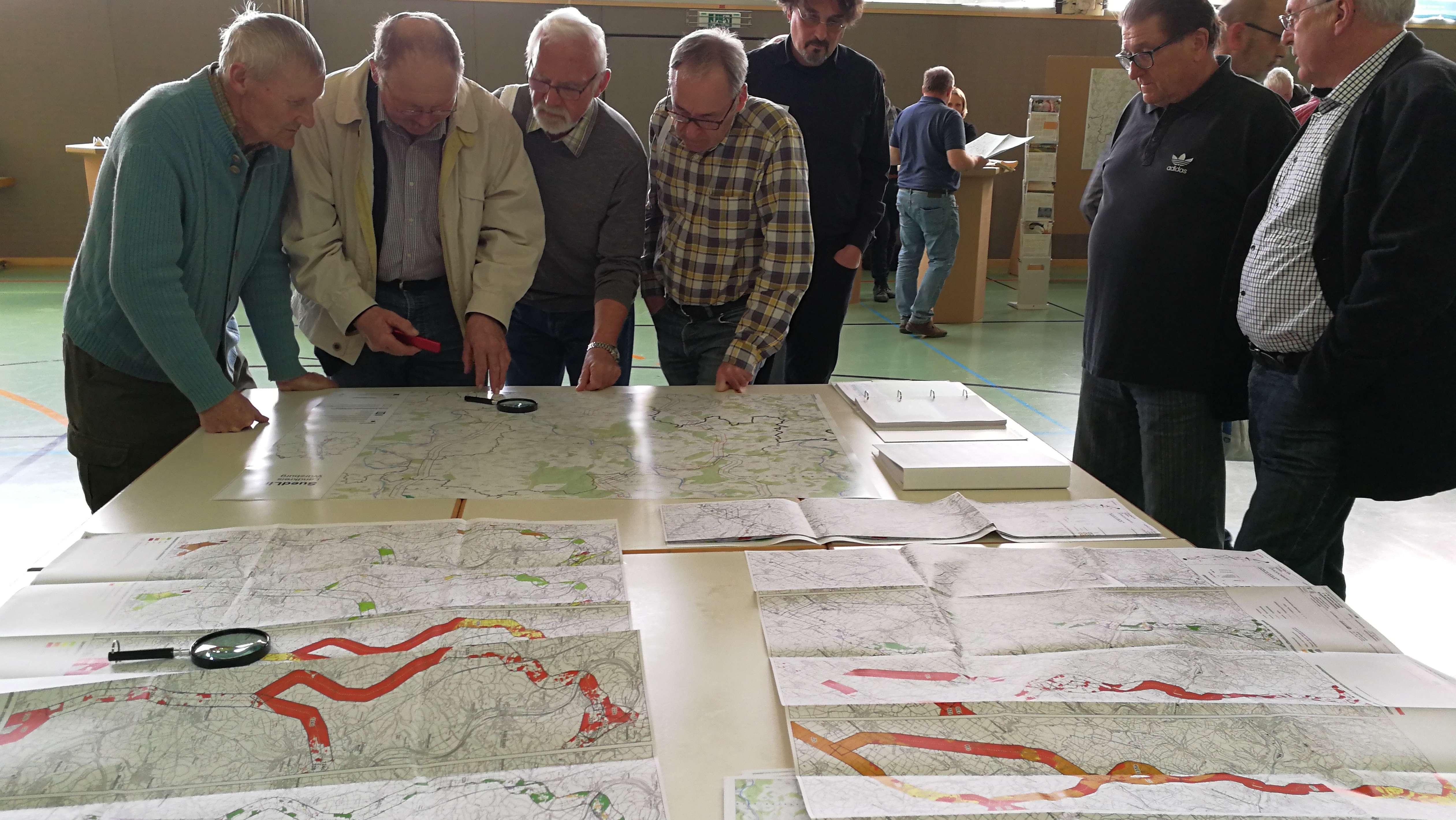 Infotag zur geplanten Stromtrasse in Giebelstadt