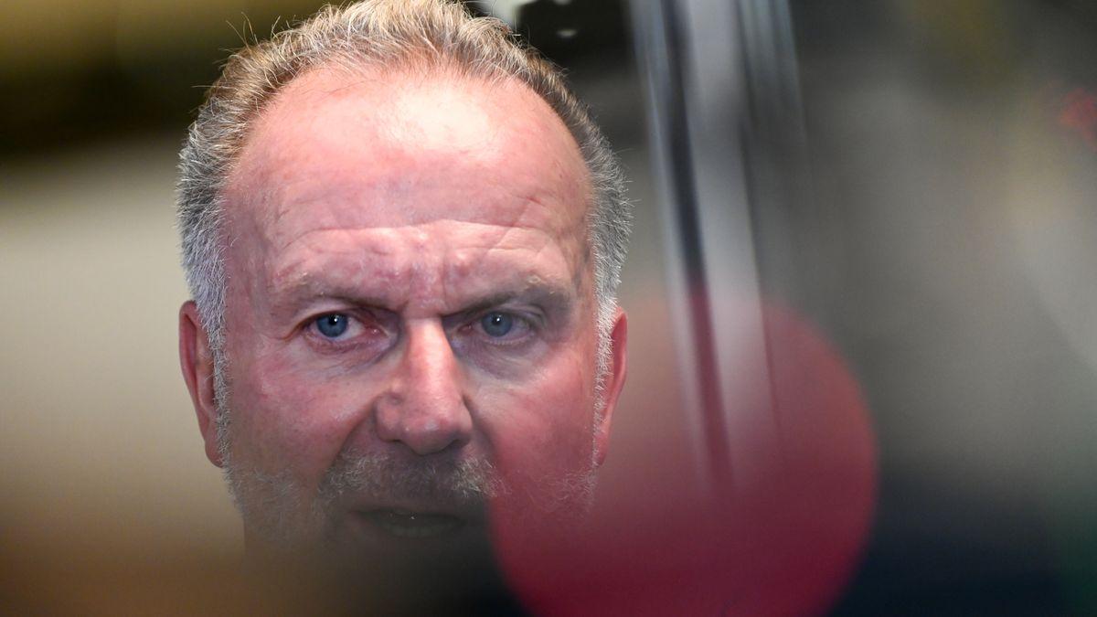 """Karl-Heinz Rummenigge nach der """"G15""""-Sitzung"""