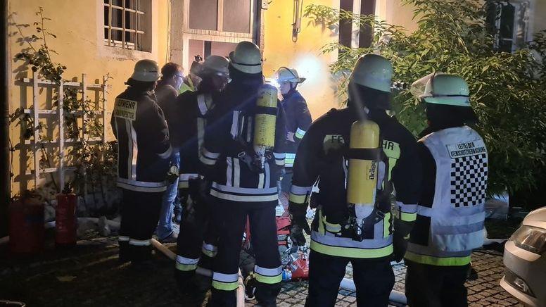 Bei der Explosion eines Heizofens ist ein Mann in Bärnau im Landkreis Tirschenreuth schwer verletzt worden.    Bild:news5