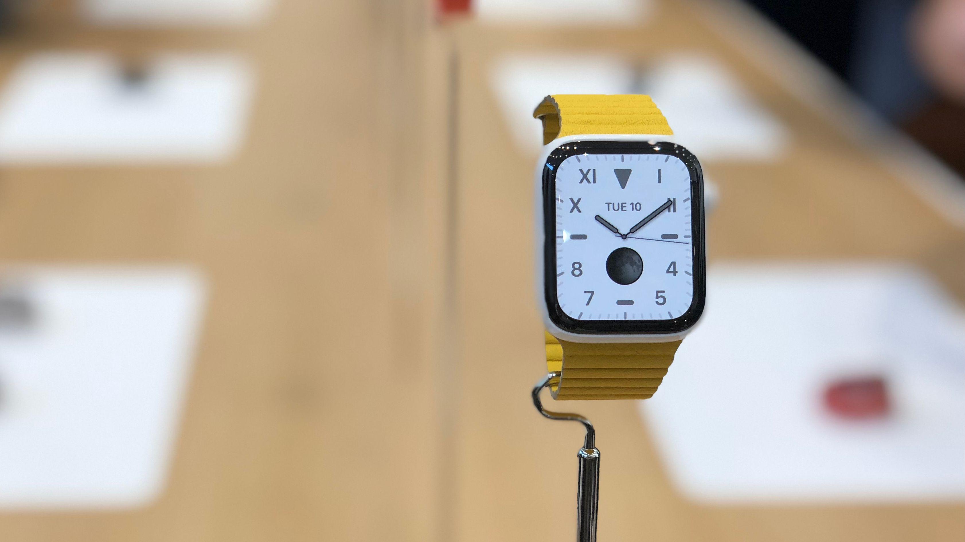 Die neue Apple Watch Series 5