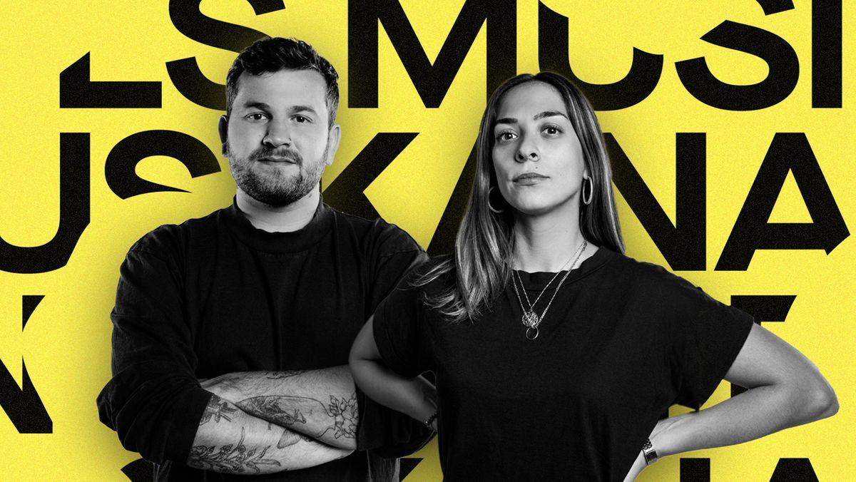 """Fridl Achten und Tamara Güclü vom Podcast """"PULS Musik Analyse"""""""