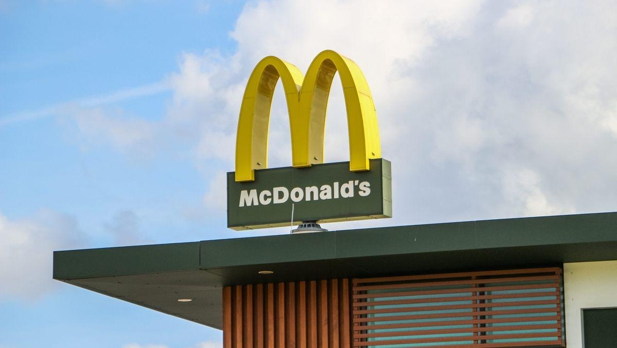 Das Logo der Schnellimbiss-Kette McDonald's.