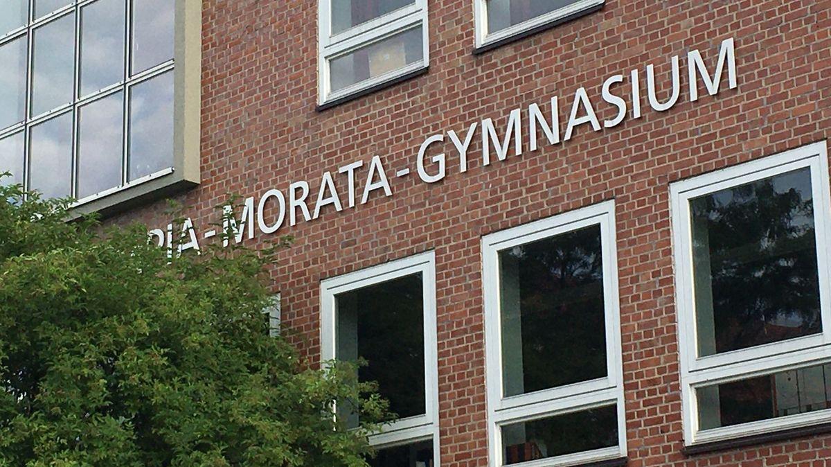 Das Olympia-Morata-Gymnasium in Schweinfurt