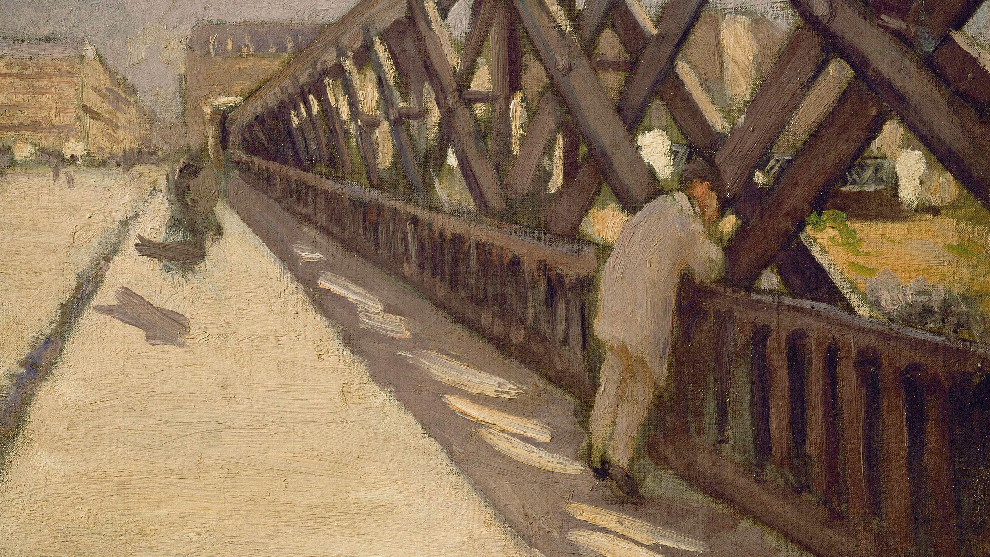 Gustave Caillebotte: Pont de l'Europe (Vorstudie), 1876