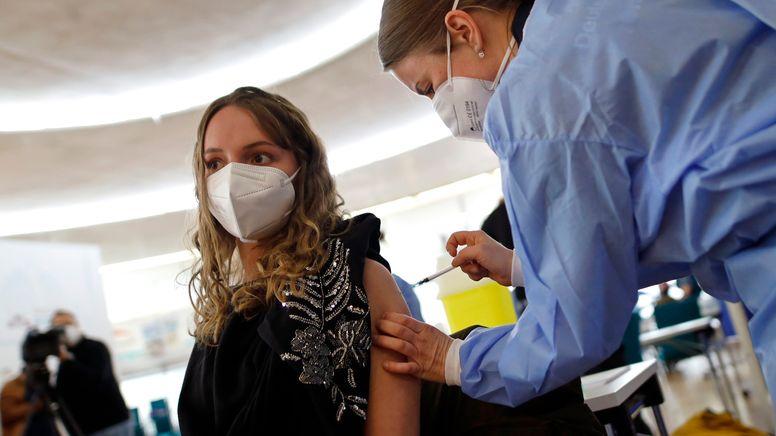 Sonderimpfungsaktion in Köln | Bild:pa / dpa