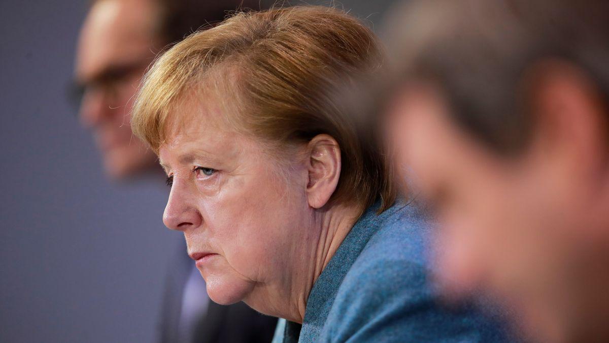 Merkel beim Impfgipfel