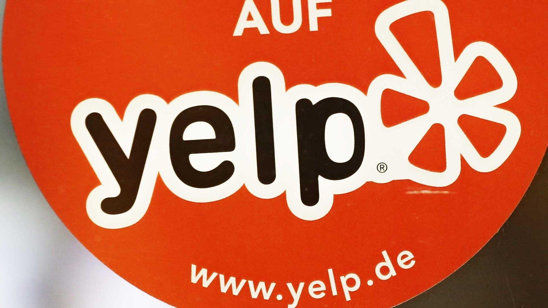 Logo des Bewertungsportals Yelp