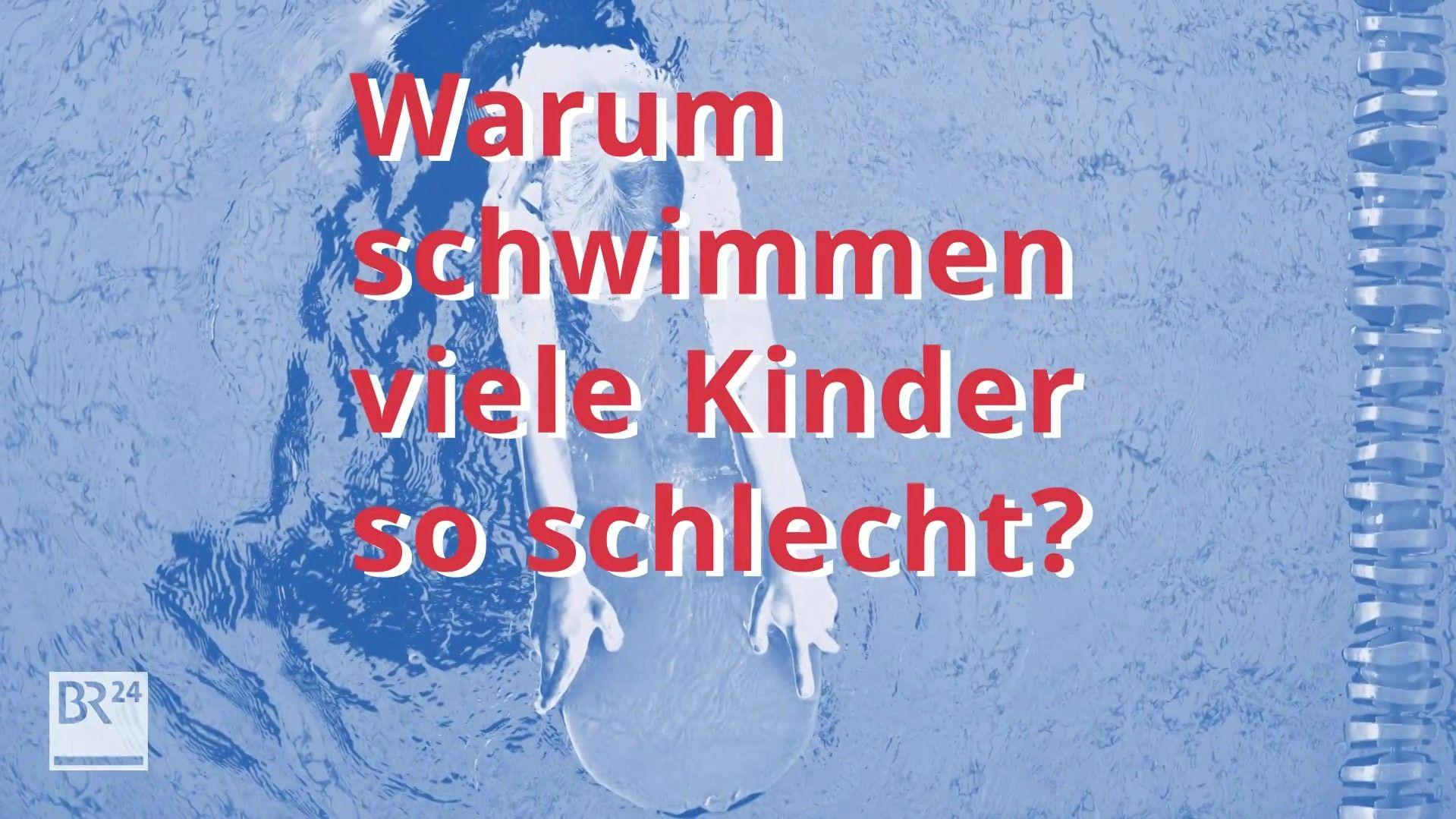 Warum schwimmen viele Kinder so schlecht?
