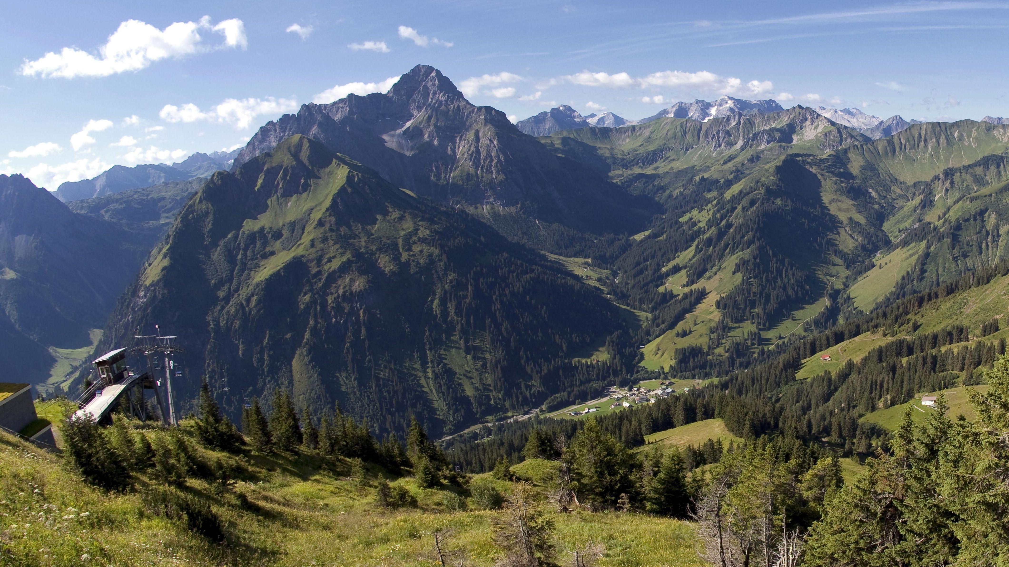 Widderstein, Vorarlberg, Österreich
