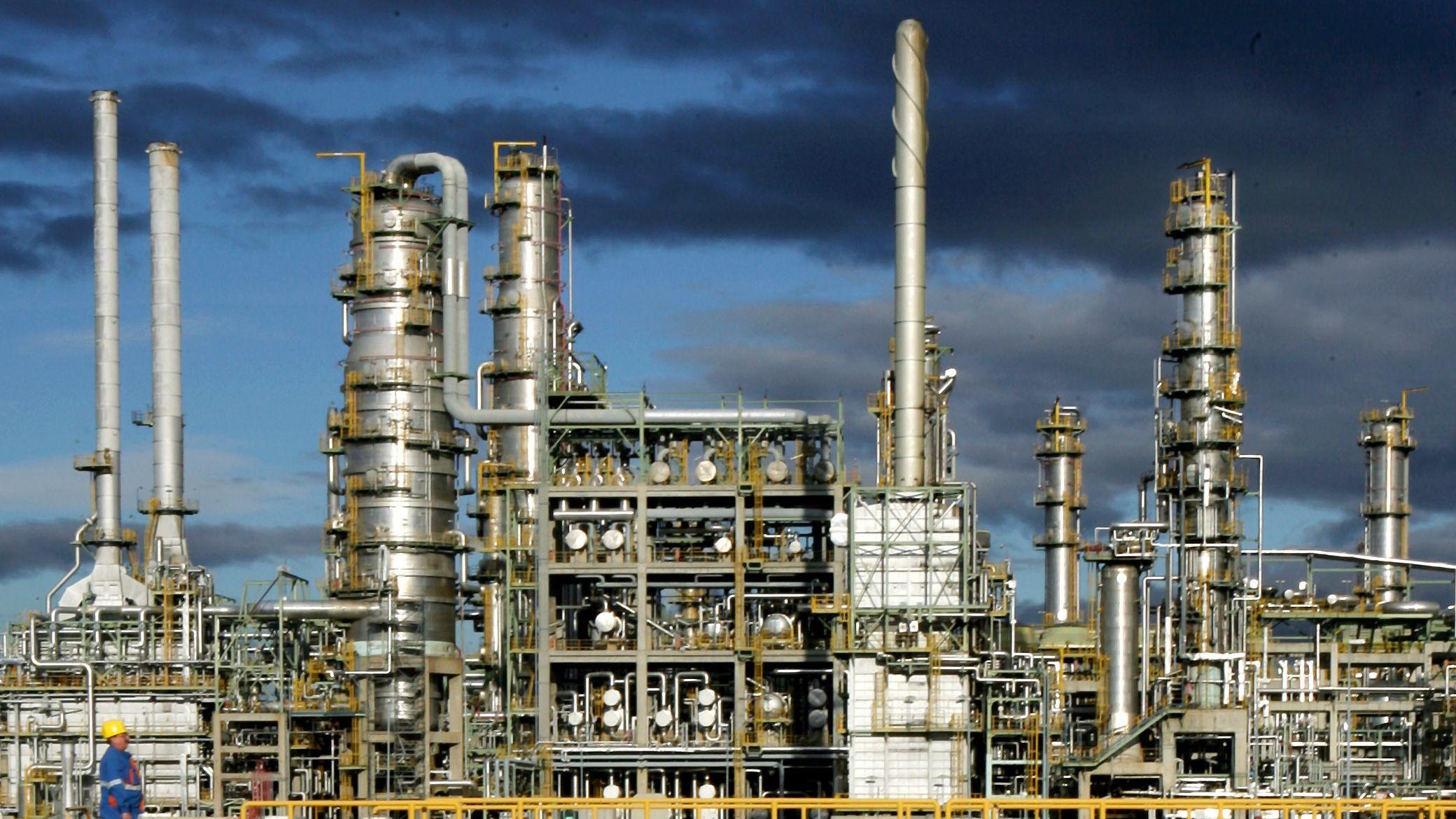 Die TOTAL Raffinerie Leuna