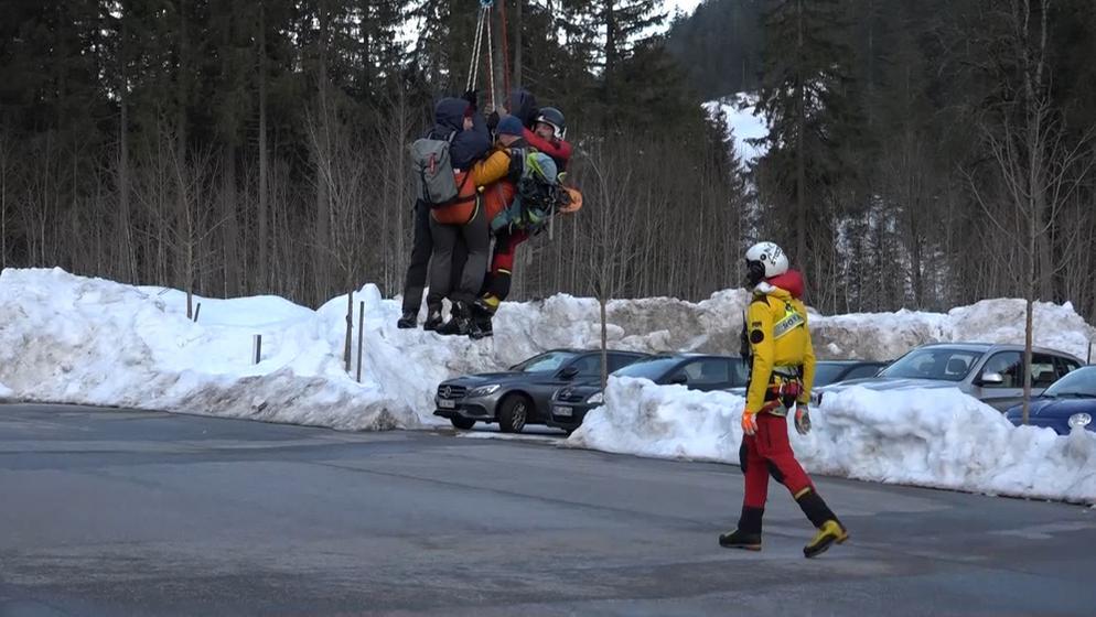 Rettungskräfte | Bild:BR