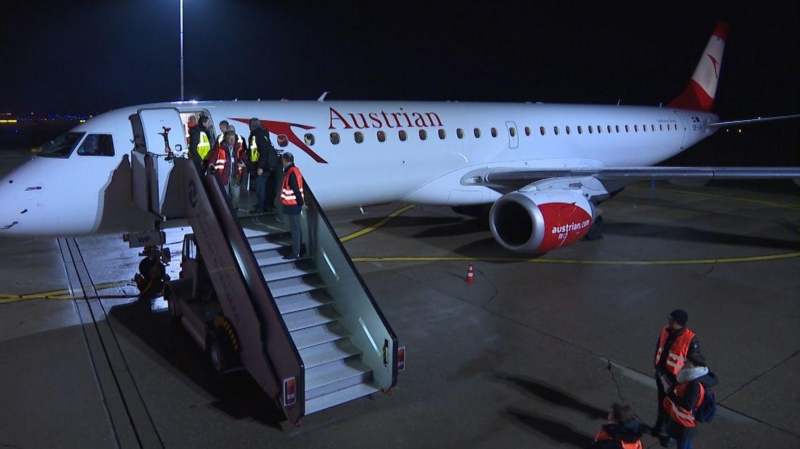 Neue Flugverbindung Nürnberg-Wien