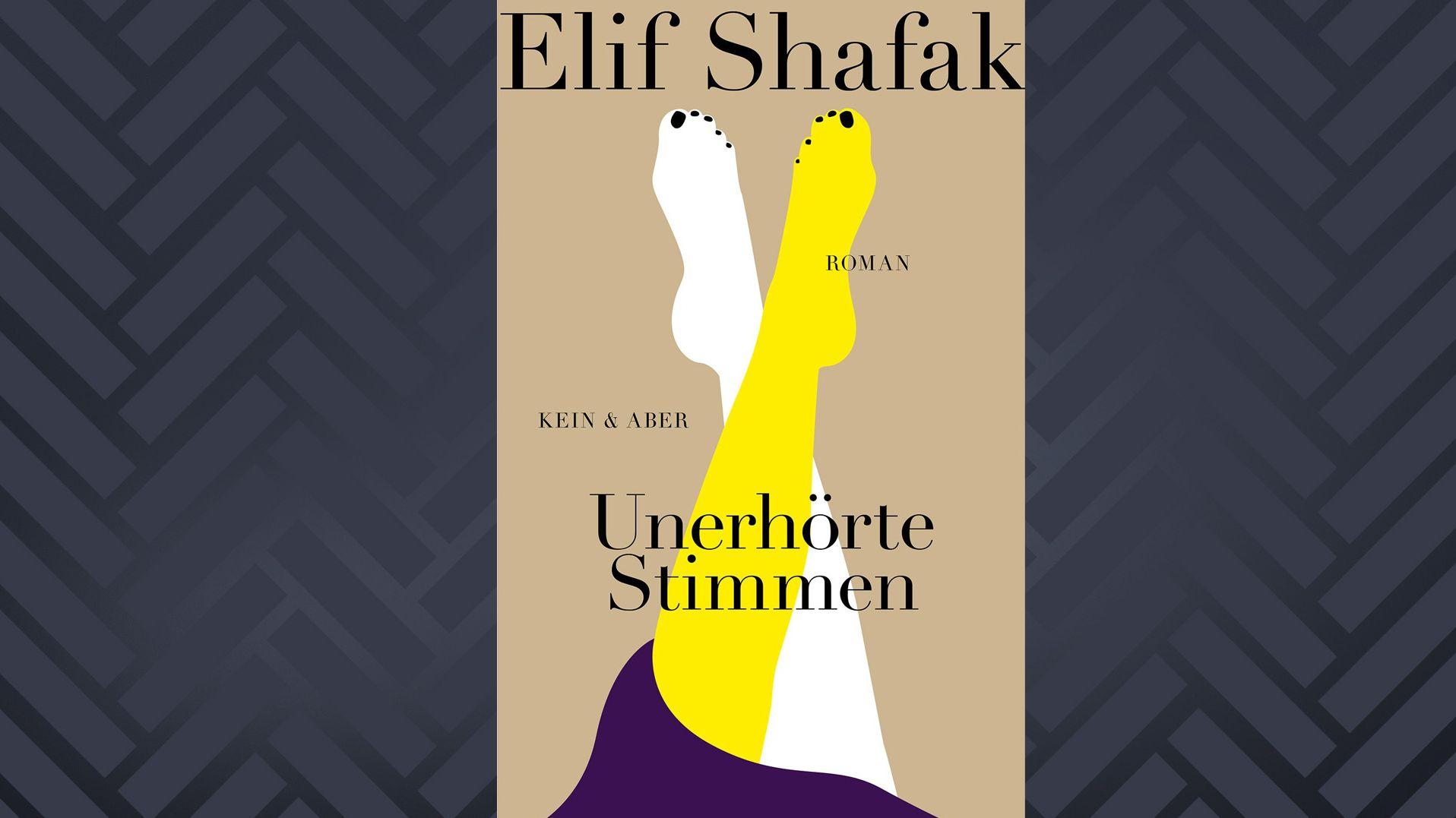 """Cover: """"Unerhörte Stimmen"""" von Elif Shafak"""