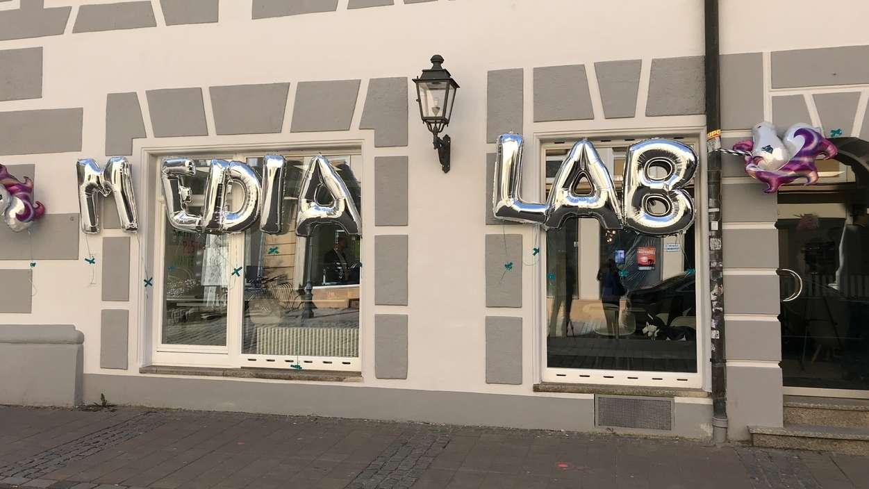 Eröffnung des Media Lab Bayern inmitten der Ansbacher Altstadt