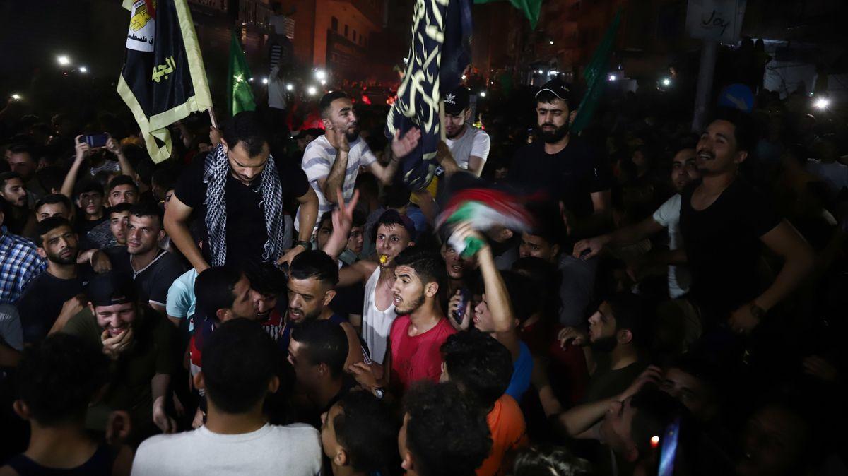 Tausende feierten in Gaza die erste Nacht ohne Angriffe
