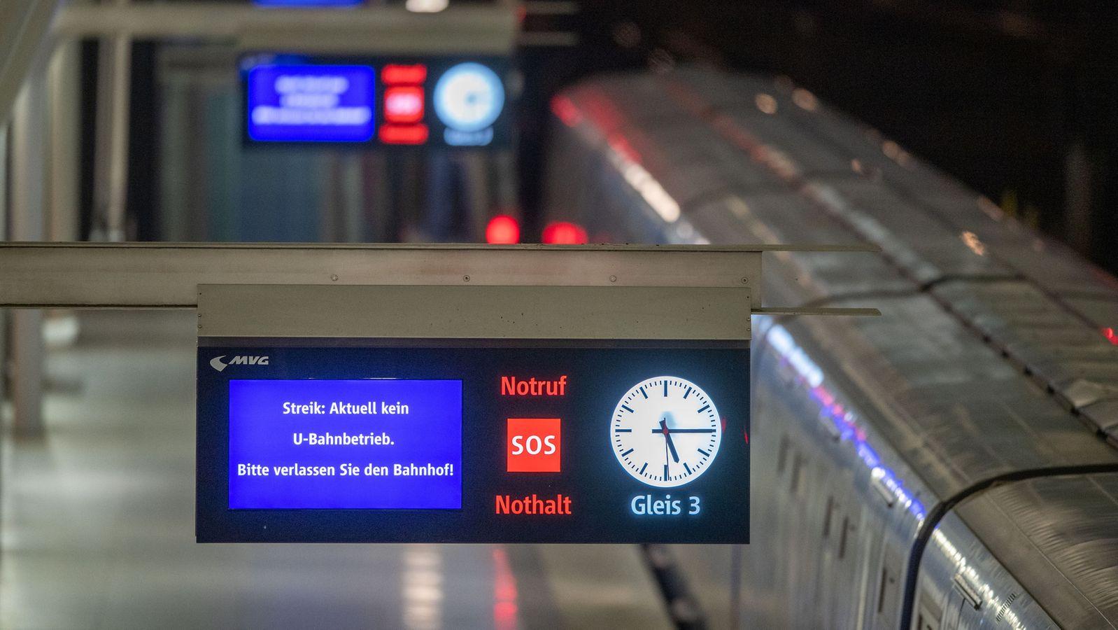 Warnstreiks legen Bus- und Bahnverkehr in vielen Städten lahm