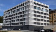 Das Klinikum Naila bekommt für 37 Millionen Euro ein neues Bettenhaus | Bild:Landkreis Hof
