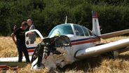 Flugzeugabsturz bei Coburg | Bild:BR