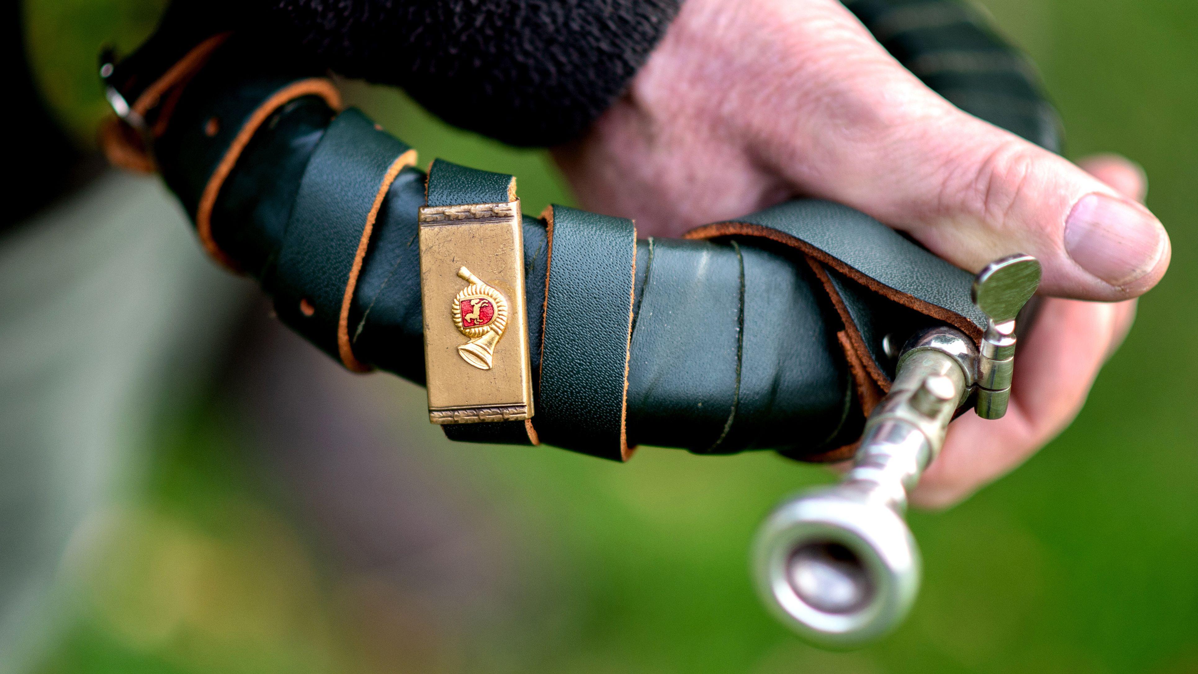 Jäger mit Jagdhorn (Symbolbild)