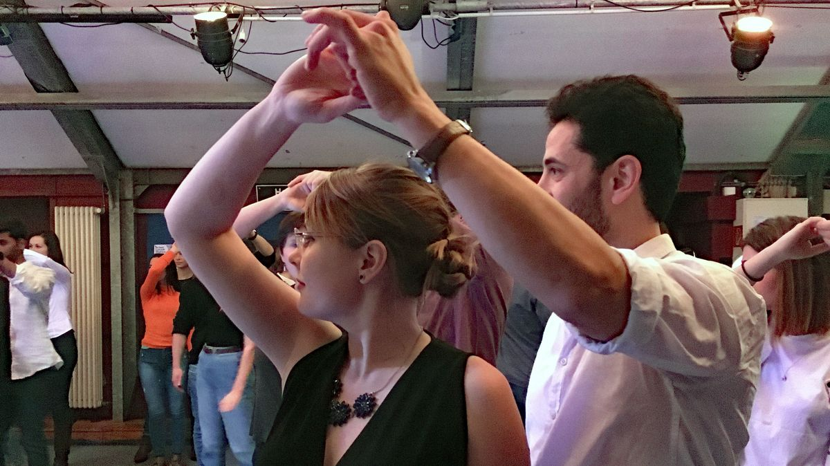 Forro-Tanz an der Uni Bayreuth
