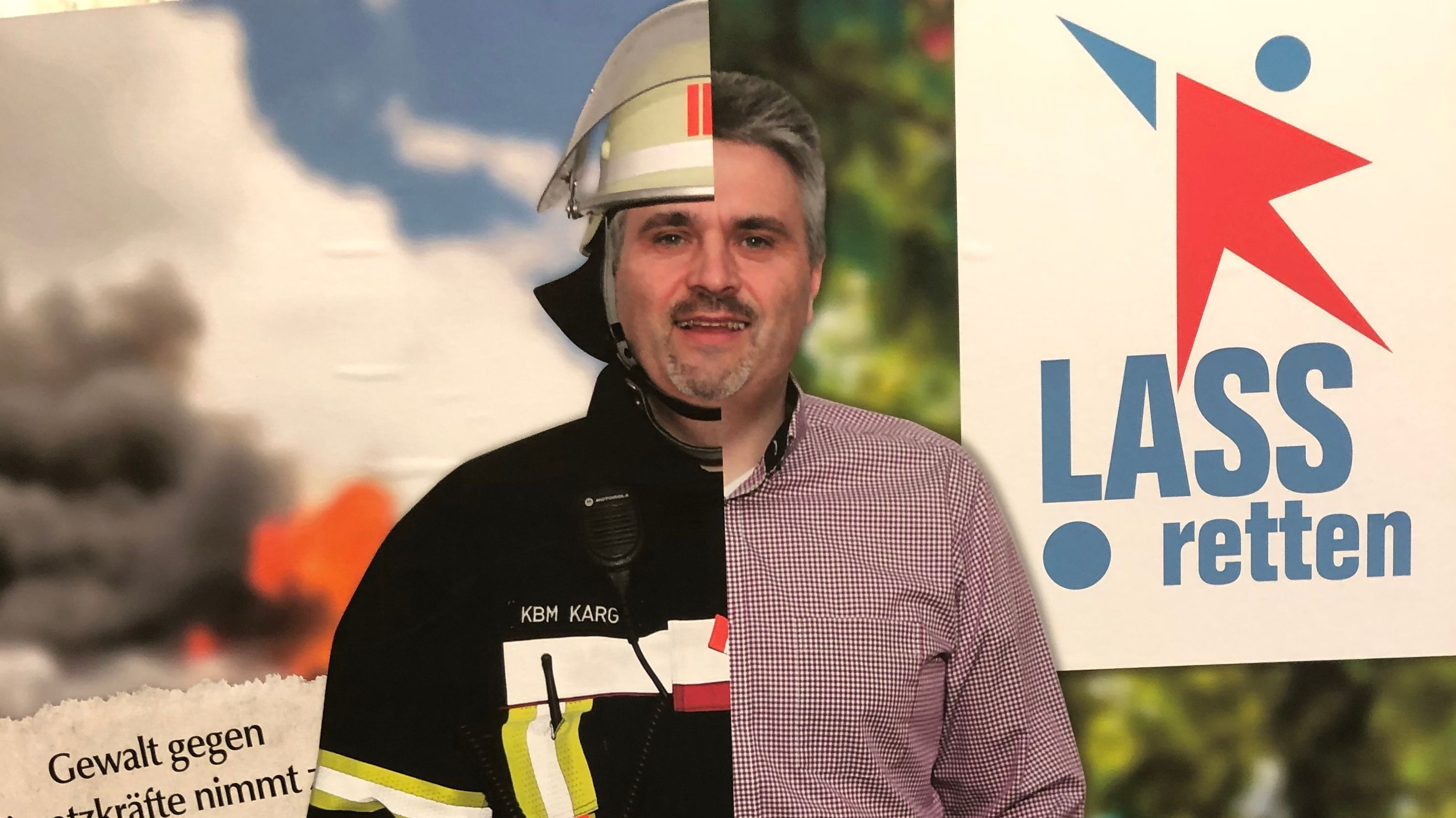"Das niederbayerische Aktionsbündnis ""Lass retten"" kämpft gegen Gewalt gegen Rettungskräfte."