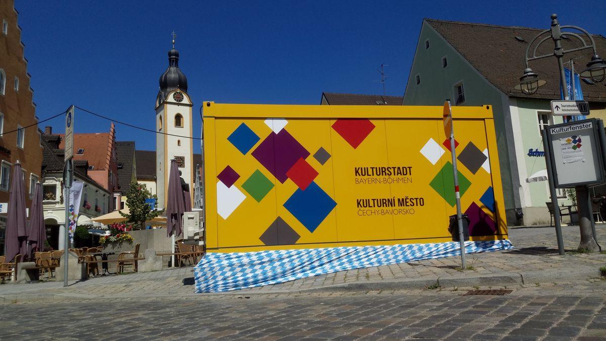 """In Schwandorf startet am Samstag (01.08., 11-15 Uhr) die Veranstaltungsreihe """"Kulturstadt Bayern-Böhmen""""."""