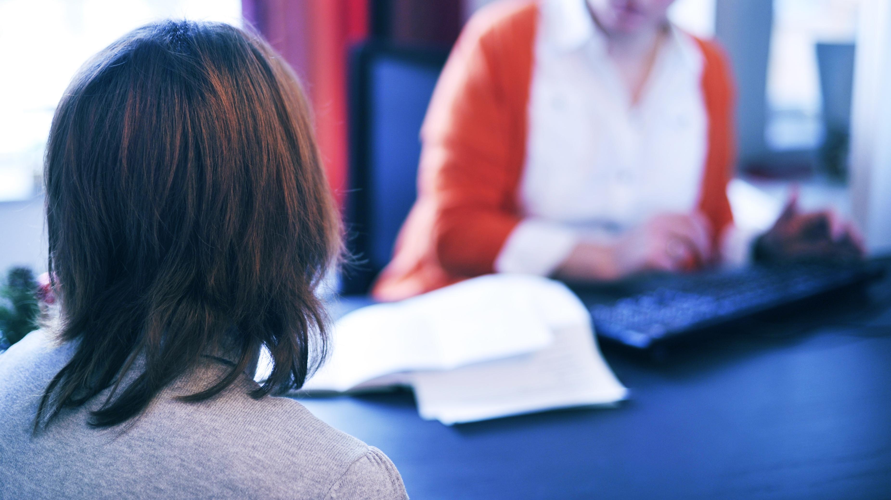 Beratungsgespräch bei Frauenärztin
