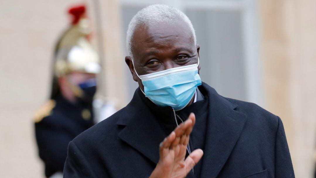 Bah N'Daw, Übergangspräsident von Mali zu Besuch in Paris (Archiv)