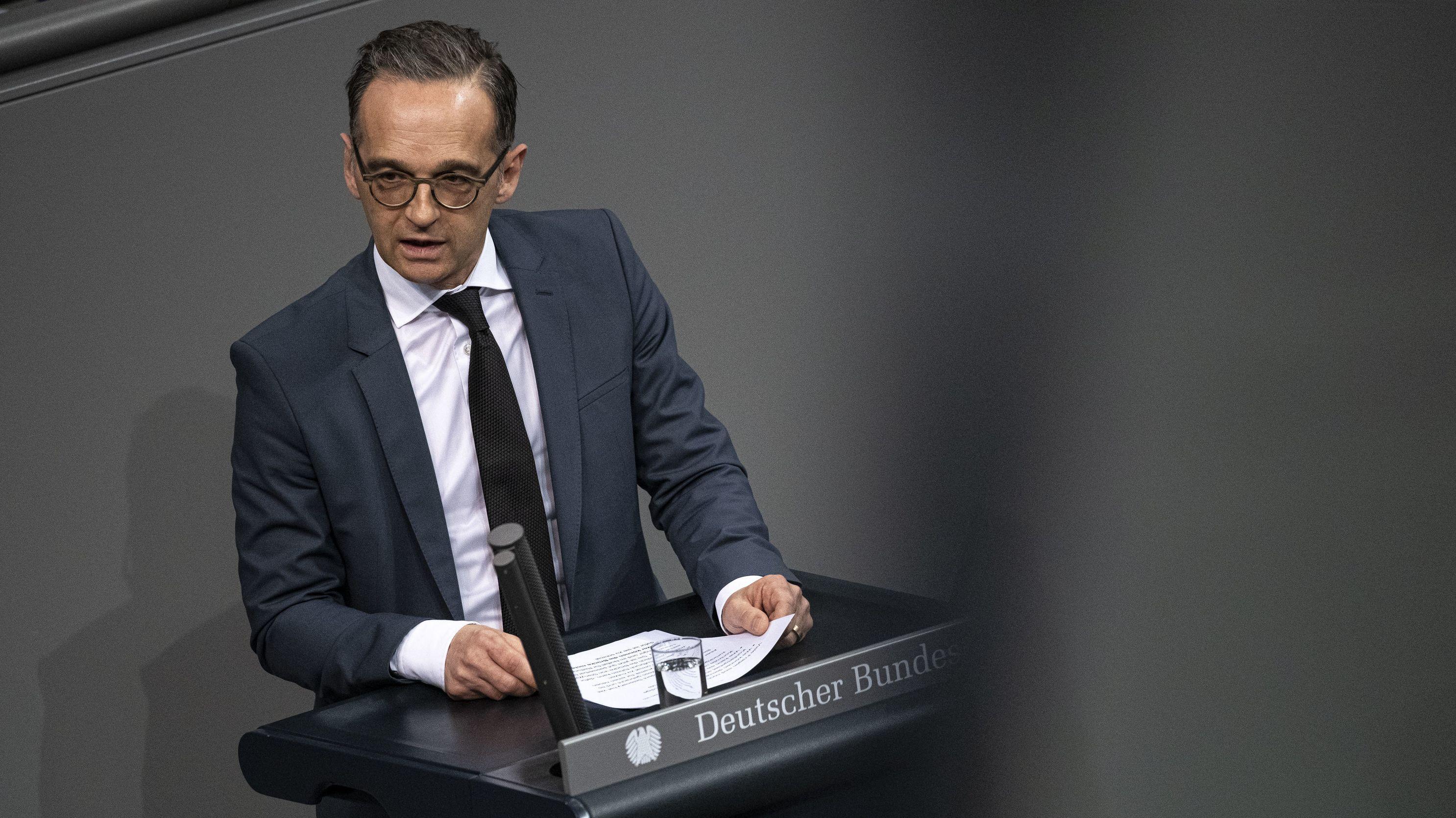 Bundesaußenminister Heiko Maas (SPD) kritisiert die US-Außenpolitik gegenüber dem Iran.