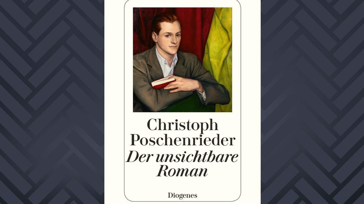"""Cover: Christoph Poschenrieder: """"Der unsichtbare Roman"""""""